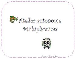 nouvel atelier multiplication - CE1