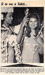 23 février 1967 : T'as-t'y été à Tahiti ?