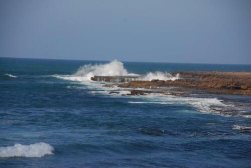 L'océan se déchaîne parfois