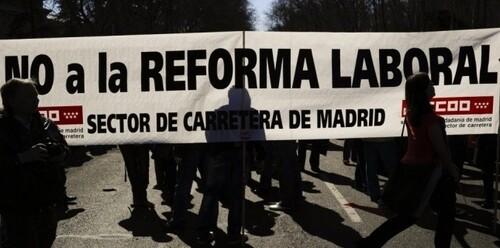 L'Espagne s'immobilise contre l'austérité et la réforme du travail