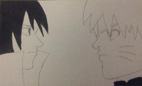 #NARUTO : Naruto&Sasuke