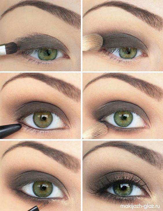 8 maquillages pour les yeux verts, vus sur Pinterest | Coup de Pouce: