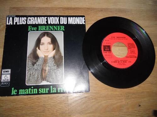 BRENNER, Ève - Le Matin sur la rivière   (Chansons françaises)