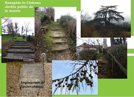 Deux jardins publics à Neauphle-le-Château