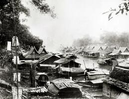 Bangkok 1860 Image source Oberlin College archive USA