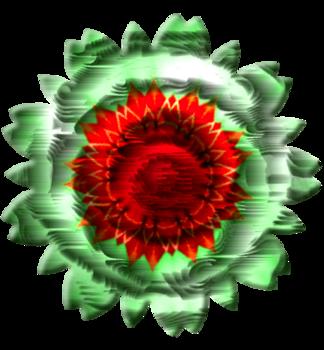 Fleurs tissu série 3