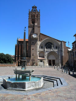 Midi-Pyrenees, Haute-Garonne,Toulouse , cathédrale-31000