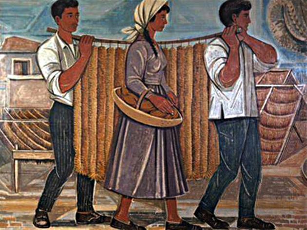Tassos : portraits de la Grèce rurale et révoltée * Τάσσος