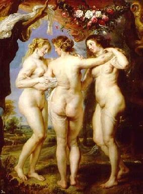 Les 3 grâces (Rubens)