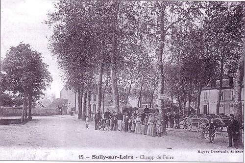 Un jour sur le Champ de Foire, avant la Grande Guerre