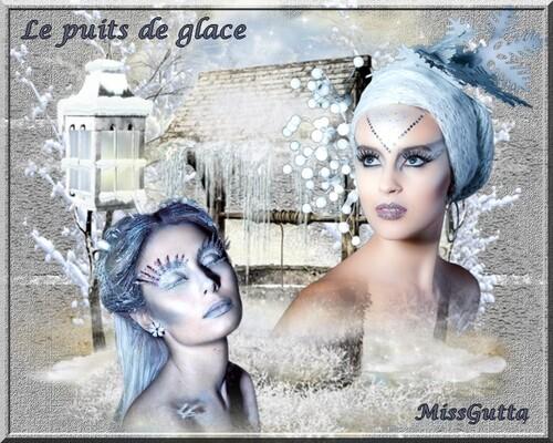 """Vos belle créations à l'honneur... """"Le puits de glace"""""""
