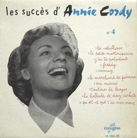 Annie Cordy, 1956