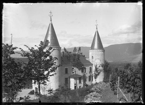 Le Château Froid en 1890