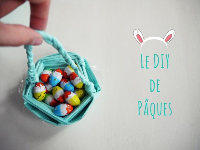 Le panier de Pâques (DIY)