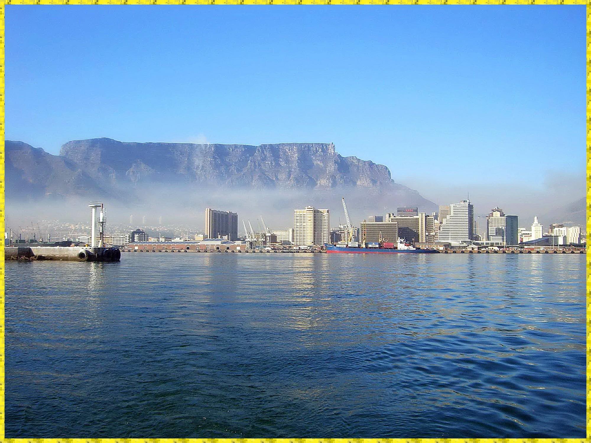 Cape Town et Table Mountain