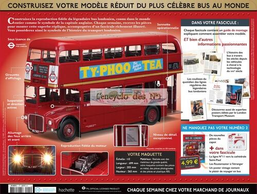 N° 1 Construisez le bus de Londres RM
