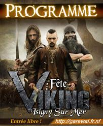 Programme Fête Viking d'Isigny (2ème édition)