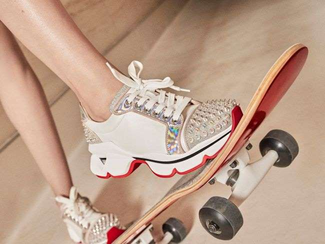 Christian Louboutin : Run Loubi Run, la révolution des sneakers