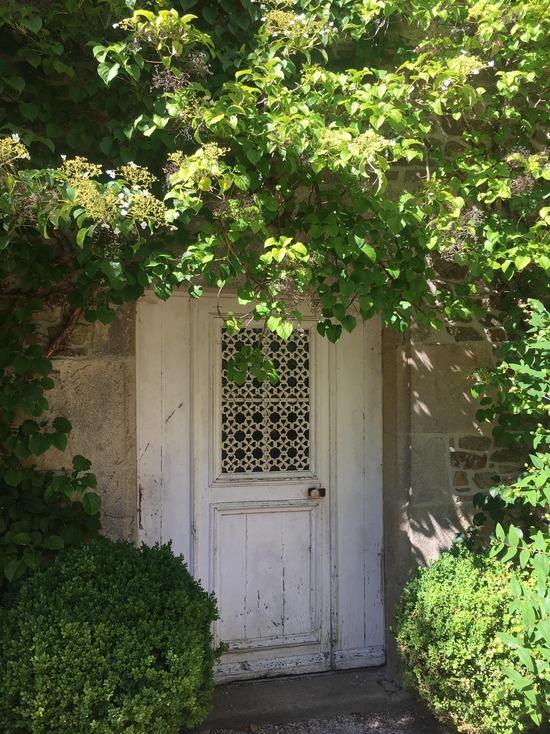 Peut être une image de porte, arbre et plein air