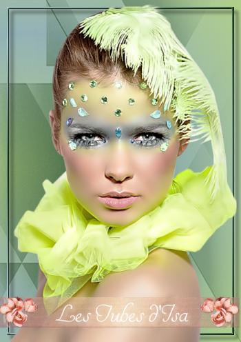 FV0014 - Tube femme visage