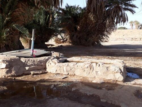 Le fameux puits où les animaux accouraient pour boire