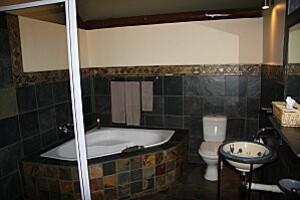 salle de bains Zulu Nyala tente