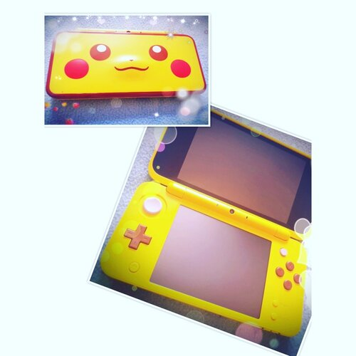 Une New 2DS XL Pikachu