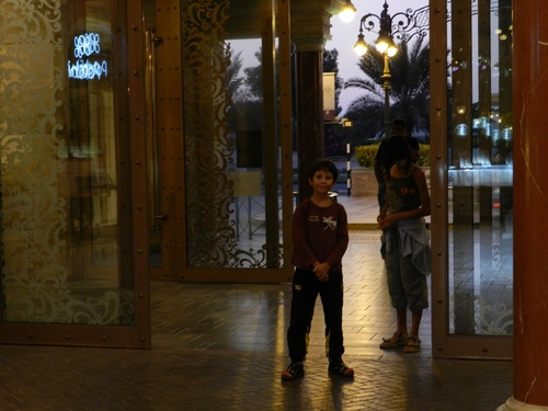 UAE Un mall et un hôtel