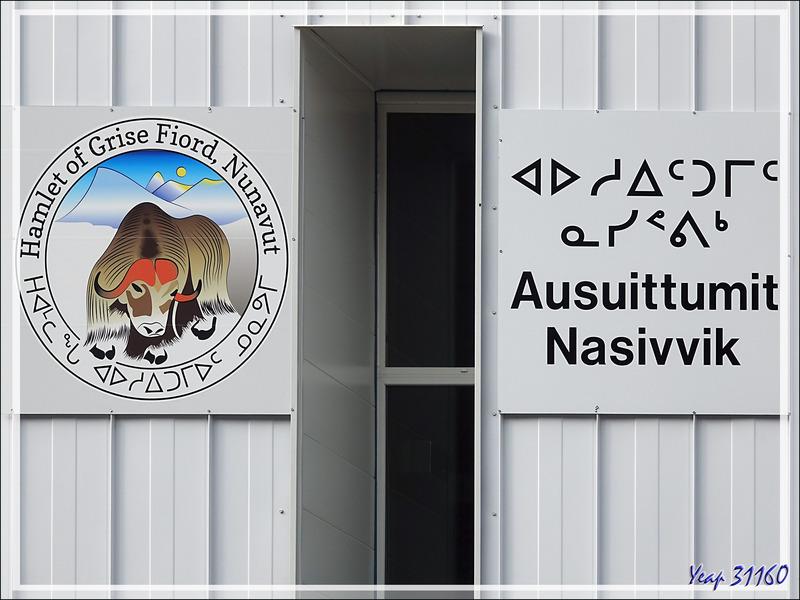 Un nouveau diplôme à notre actif : celui de notre visite du hameau de Grise Fiord avec son beau logo - Ellesmere Island - Nunavut - Canada