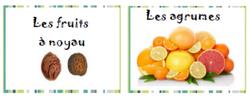 vocabulaire - autour des fruits