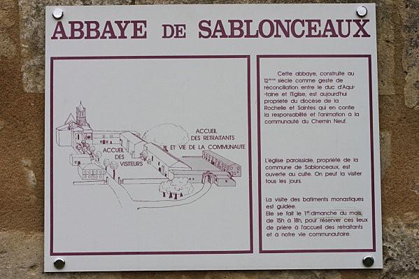 l'Abbaye de Sablonceaux