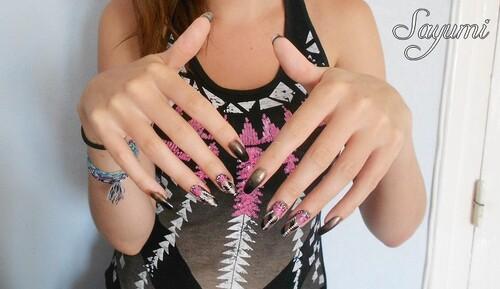 Nail Art : inspiré d'un vêtement