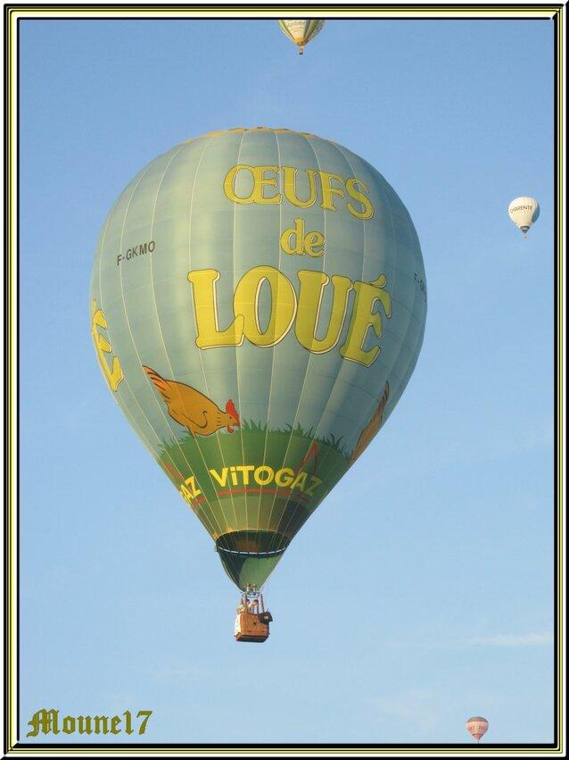 L'envol des montgolfières à Semussac vers l'estuaire de la Gironde