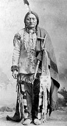 The History of Native American Tribes. Sitting Bull, 1884