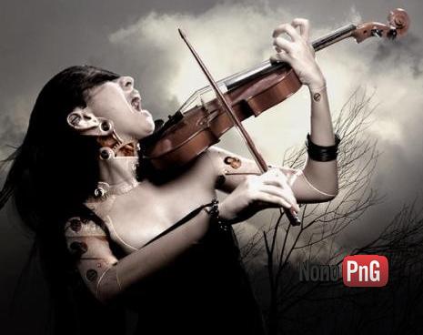 Femmes au violons