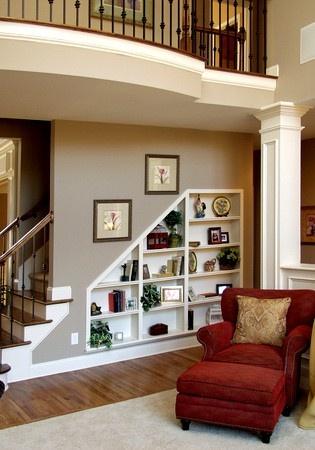 Dans les escaliers - Aménagement 7