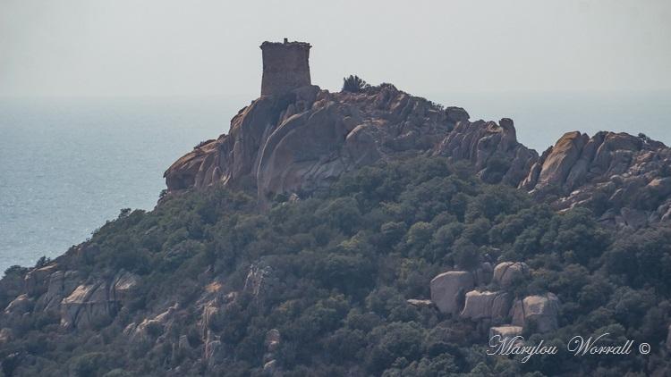 Corse : Le lion de Roccapina