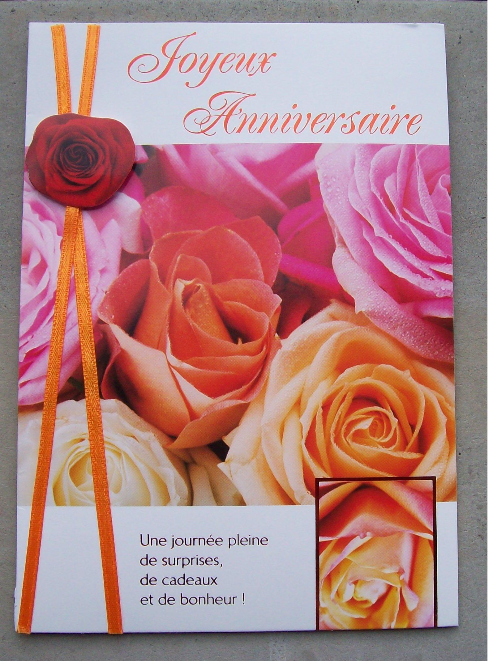 Carte Anniversaire Amitie.Amitie