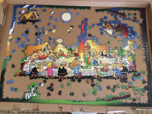 Le puzzle des CM1