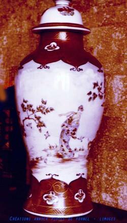 Mes peintures sur porcelaines - 1
