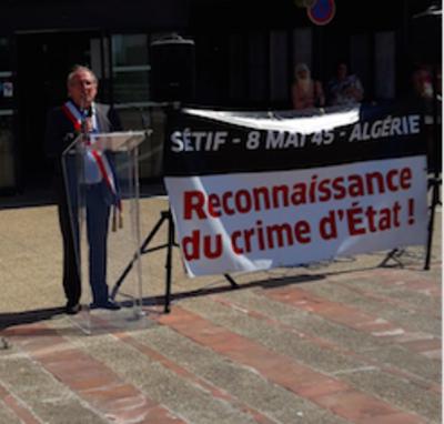 Pour la quatrième fois depuis les 70 ans  de ces crimes :  des rassemblements   pour « l'Autre 8 mai 1945 »