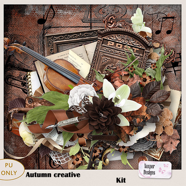 Autumn creative Kit