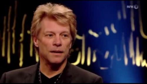 "BONJOVI pour l'émission ""skavlan"" 3 novembre 2012"