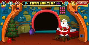Jouer à Decorative Christmas room escape