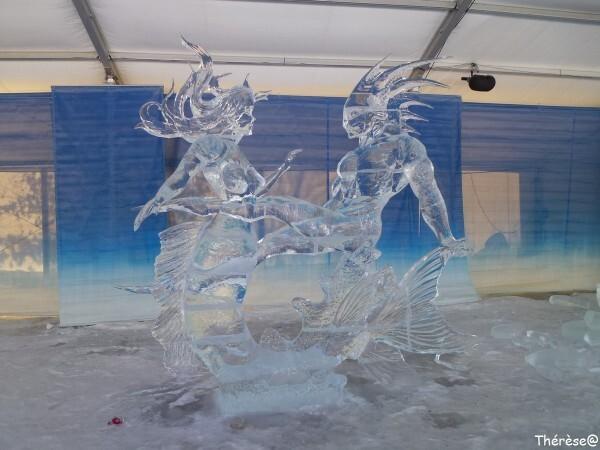 Ottawa sculpture sur glace Rythme de la mer (1)