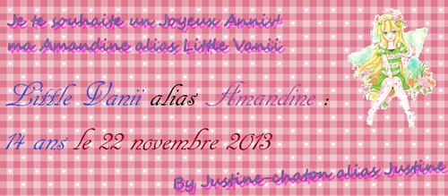Pour Amandine alias Little Oréro