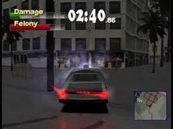 Driver 2 mission 29: Vol de la voiture des flics
