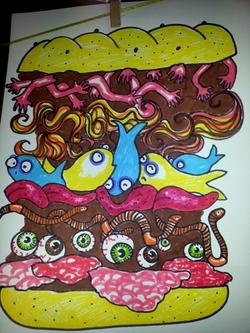 Un sandwich monstre!