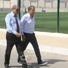 Mercredi 13.7.2016 le Coach de l'EN  Milovan Rajevac visite le centre Technique National de sidi mou