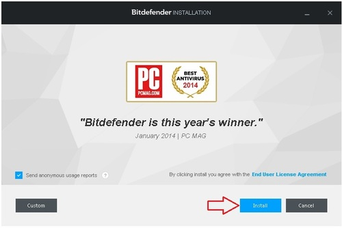 Bitdefender Total Security 2015 bêta